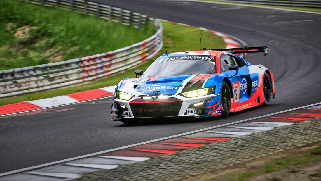 Audi R8 LMS GT3 - Audi Sport Team Phoenix - Startnummer 15 - 24h Rennen Nürburgring - Nürburgring-Nordschleife - 4. Juni 2021