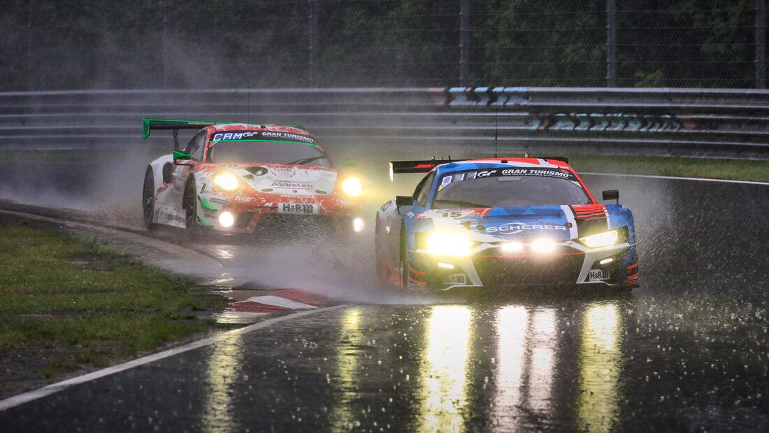 Audi R8 LMS GT3 - Audi Sport Team Phoenix - Startnummer #15 - 24h-Rennen Nürburgring - Nürburgring-Nordschleife - 5. Juni 2021