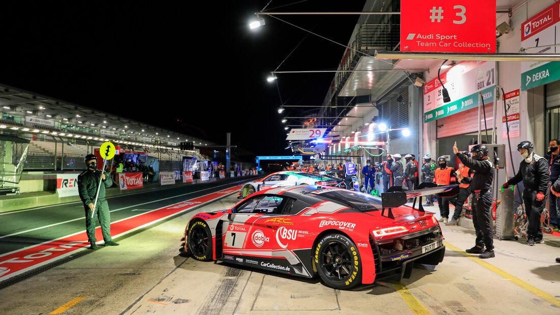 Audi R8 LMS GT3 - Car Collection Motorsport - Startnummer #7 - 24h-Rennen - Nürburgring - Nordschleife - Donnerstag - 24. September 2020