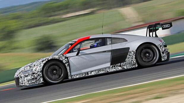 Audi R8 LMS GT3 Evo, Exterieur