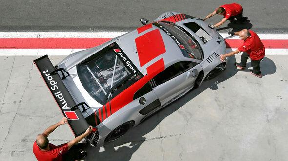 Audi R8 LMS GT3, Exterieur