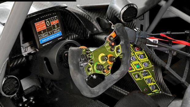 Audi R8 LMS GT3, Interieur