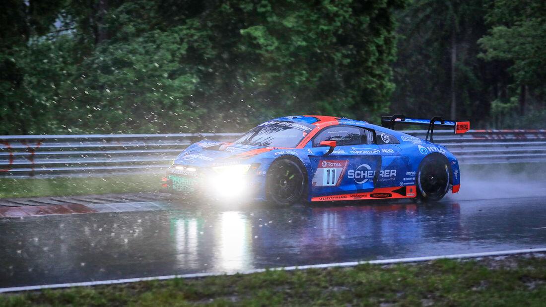 Audi R8 LMS GT3 - Phoenix Racing - Startnummer #11 - 24h-Rennen Nürburgring - Nürburgring-Nordschleife - 4. Juni 2021