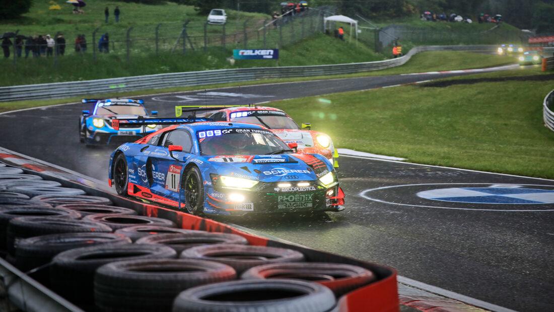 Audi R8 LMS GT3 - Phoenix Racing - Startnummer #11 - 24h-Rennen Nürburgring - Nürburgring-Nordschleife - 5. Juni 2021