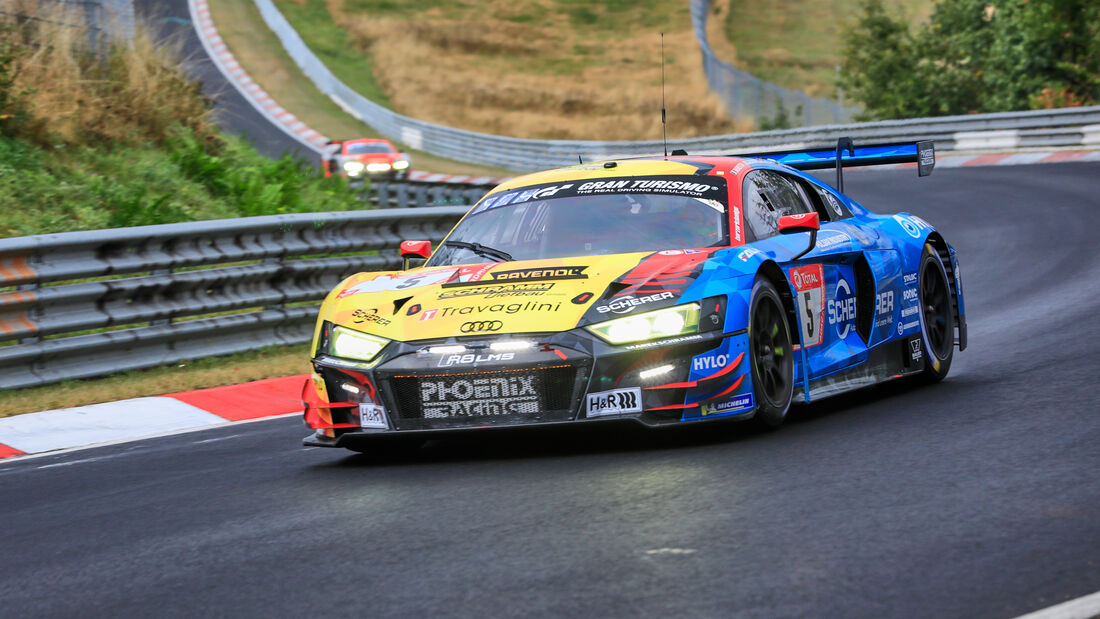 Audi R8 LMS GT3 - Phoenix Racing - Startnummer  5 - 24h Rennen Nürburgring - Nürburgring-Nordschleife - 25. September 2020