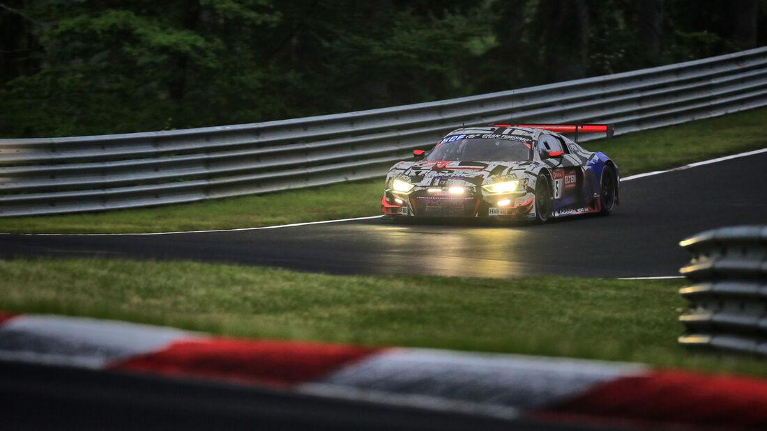 Audi R8 LMS GT3 - Phoenix Racing - Startnummer #5 - 24h-Rennen Nürburgring - Nürburgring-Nordschleife - 5. Juni 2021