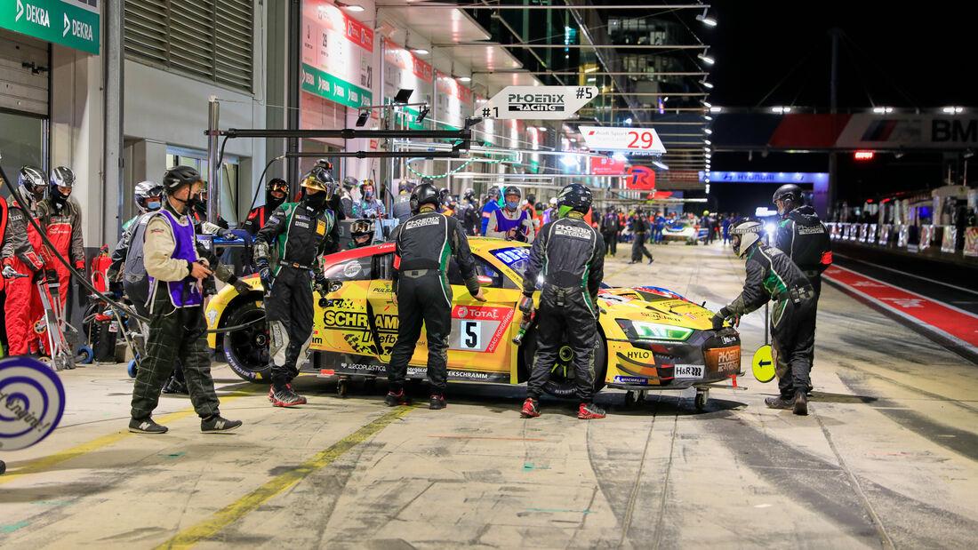 Audi R8 LMS GT3 - Phoenix Racing - Startnummer #5 - 24h-Rennen - Nürburgring - Nordschleife - Donnerstag - 24. September 2020