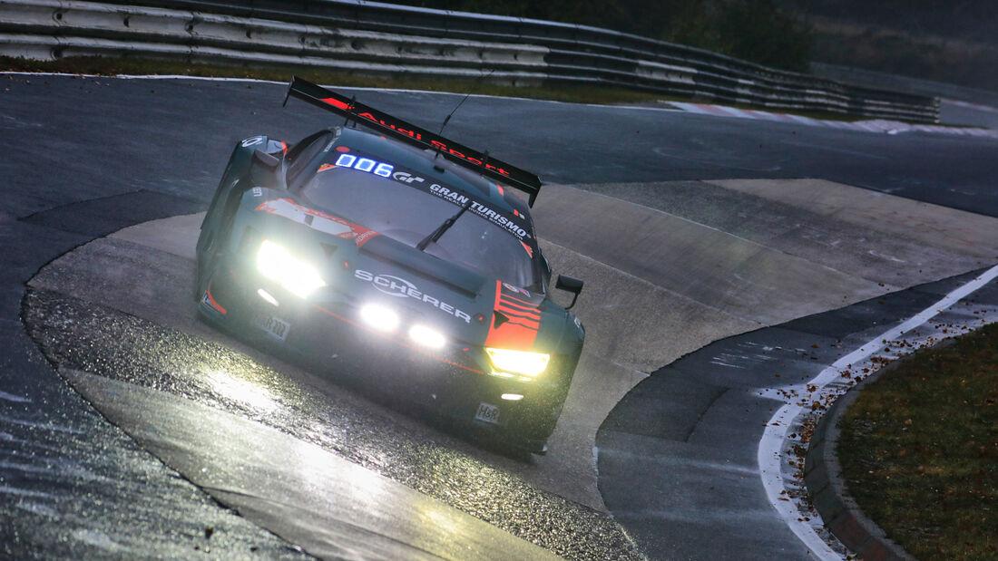 Audi R8 LMS GT3 - Startnummer 1 - 24h Rennen Nürburgring - Nürburgring-Nordschleife - 26. September 2020