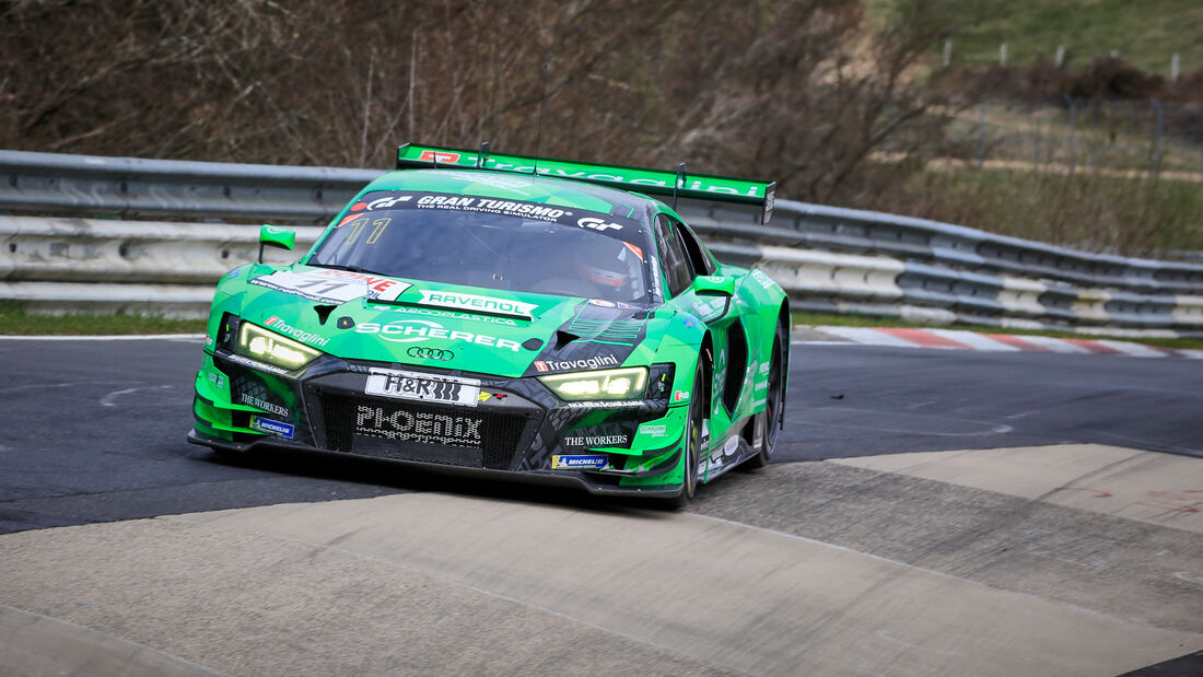 Audi R8 LMS GT3 - Startnummer #11 - Phoenix Racing - SP9 Pro - NLS 2021 - Langstreckenmeisterschaft - Nürburgring - Nordschleife