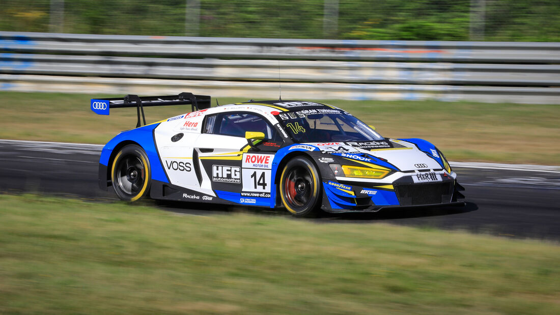 Audi R8 LMS GT3 - Startnummer #14 - RaceIng - powered by HFG - SP9 Am - NLS 2020 - Langstreckenmeisterschaft - Nürburgring - Nordschleife