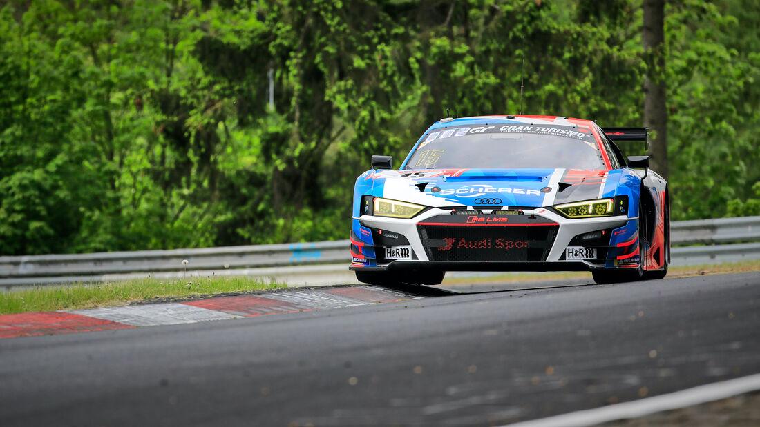 Audi R8 LMS GT3 - Startnummer 15 - 24h Rennen Nürburgring - Nürburgring-Nordschleife - 3. Juni 2021