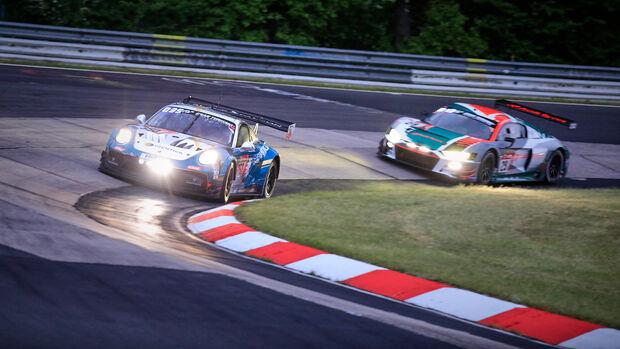 Audi R8 LMS GT3 - Startnummer 29 - 24h Rennen N�rburgring - N�rburgring-Nordschleife - 3. Juni 2022