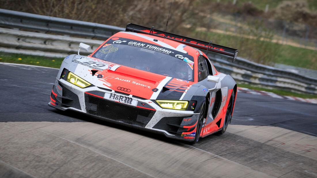 Audi R8 LMS GT3 - Startnummer #29 - Audi Sport Team Land - SP9 Pro - NLS 2021 - Langstreckenmeisterschaft - Nürburgring - Nordschleife