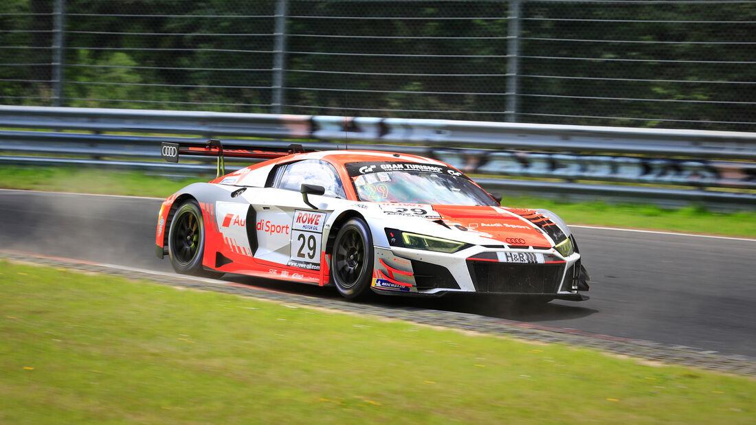 Audi R8 LMS GT3 - Startnummer #29 - Audi Sport Team - SP9 Pro - NLS 2020 - Langstreckenmeisterschaft - Nürburgring - Nordschleife