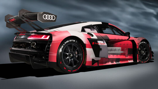 Audi R8 LMS GT3 evo II - GT3-Rennwagen