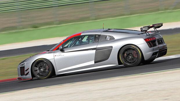 Audi R8 LMS GT4, Exterieur