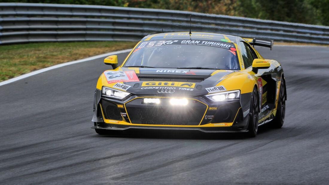 Audi R8 LMS GT4 - Giti Tire Motorsport by WS Racing - Startnummer #53 - Klasse: SP8 - 24h-Rennen - Nürburgring - Nordschleife - 24. bis 27. September 2020