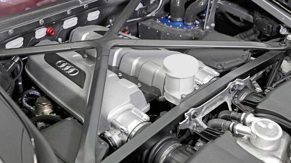 Audi R8 LMS GT4, Motorraum