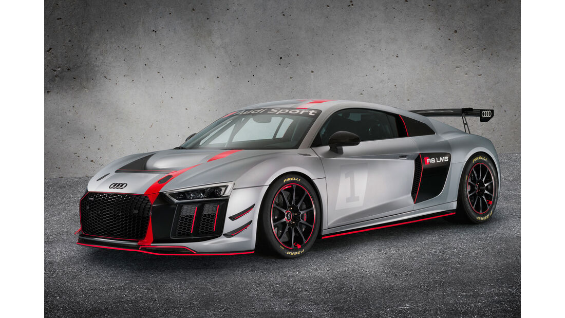 Audi R8 LMS GT4 - Rennwagen - V10-Sauger