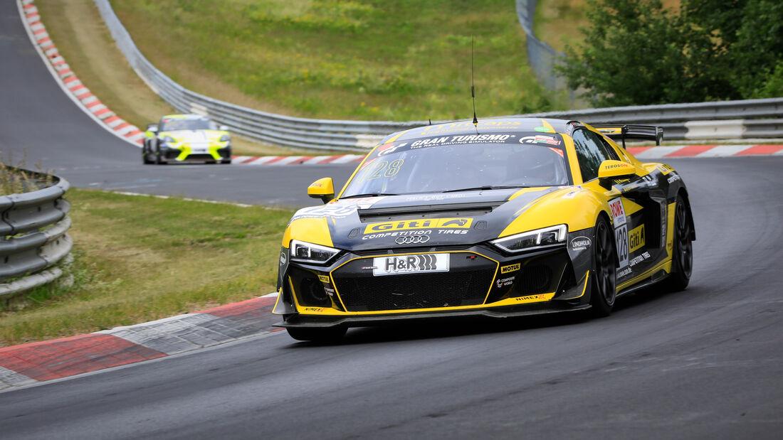 Audi R8 LMS GT4 - Startnummer #128 - GITI TIRE MOTORSPORT BY WS RACING - SP8 - NLS 2020 - Langstreckenmeisterschaft - Nürburgring - Nordschleife