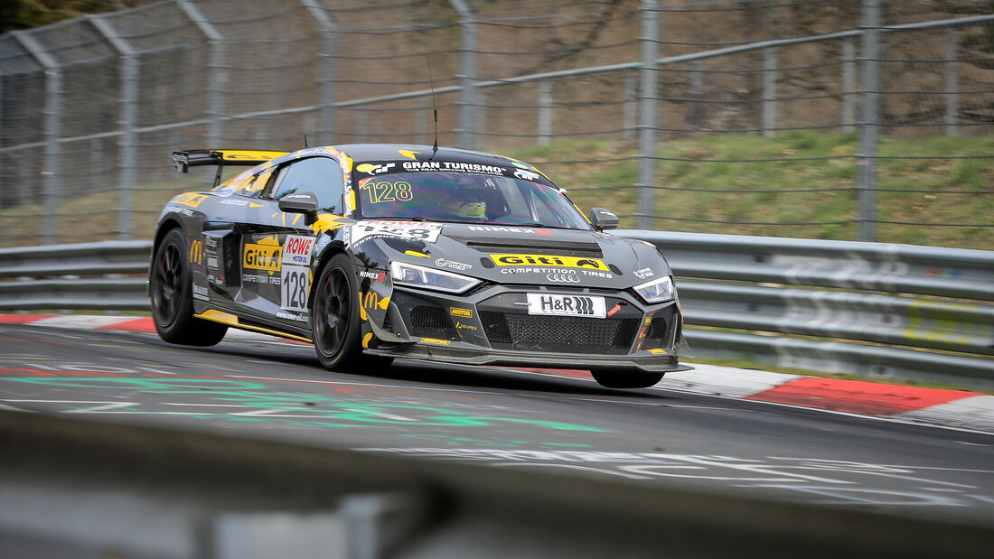 Audi R8 LMS GT4 - Startnummer #128 - GITI TIRE MOTORSPORT BY WS RACING - SP8 - NLS 2021 - Langstreckenmeisterschaft - Nürburgring - Nordschleife