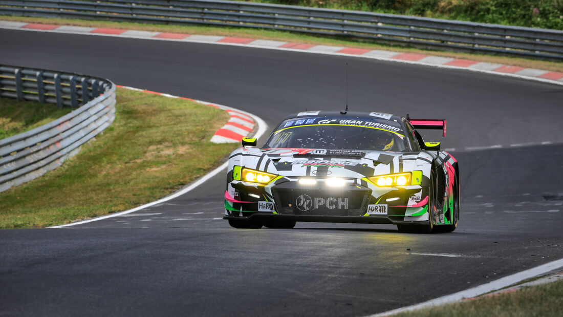 Audi R8 LMS - Iron Force Racing - Startnummer #11 - 24h-Rennen - Nürburgring - Nordschleife - Donnerstag - 24. September 2020