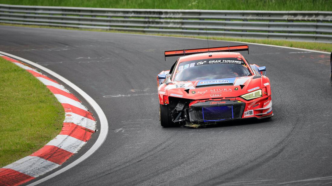 Audi R8 LMS - Lionspeed by Car Collection - Startnummer 12 - 24h Rennen Nürburgring - Nürburgring-Nordschleife - 4. Juni 2021