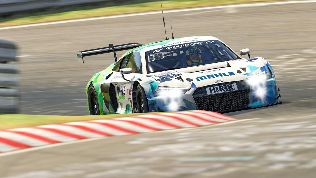 Audi R8 LMS - Mahle Racing Team - Digitale Nürburgring Langstrecken-Serie - 3. Lauf