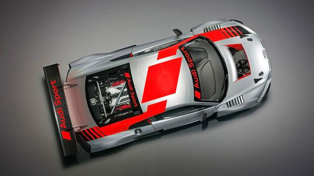 Audi R8 LMS Paris 2018
