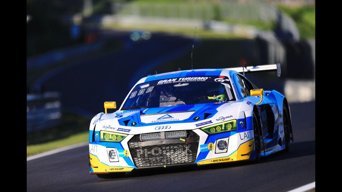 Audi R8 LMS - Phoenix Motorsport - Startnummer #5 - Top-30-Qualifying - 24h-Rennen Nürburgring 2017 - Nordschleife
