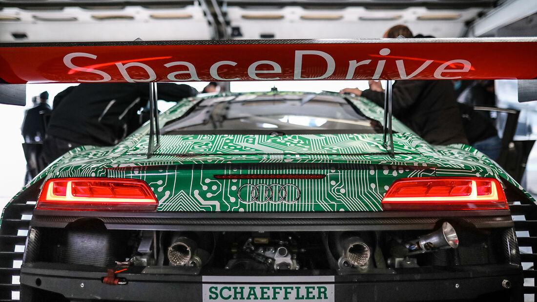Audi R8 LMS - Sophia Flörsch - DTM-Test - Hockenheim 2021