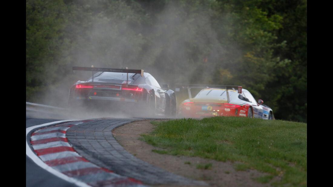 Audi R8 LMS - Starnummer #9 - 24h-Rennen Nürburgring 2017 - Nordschleife
