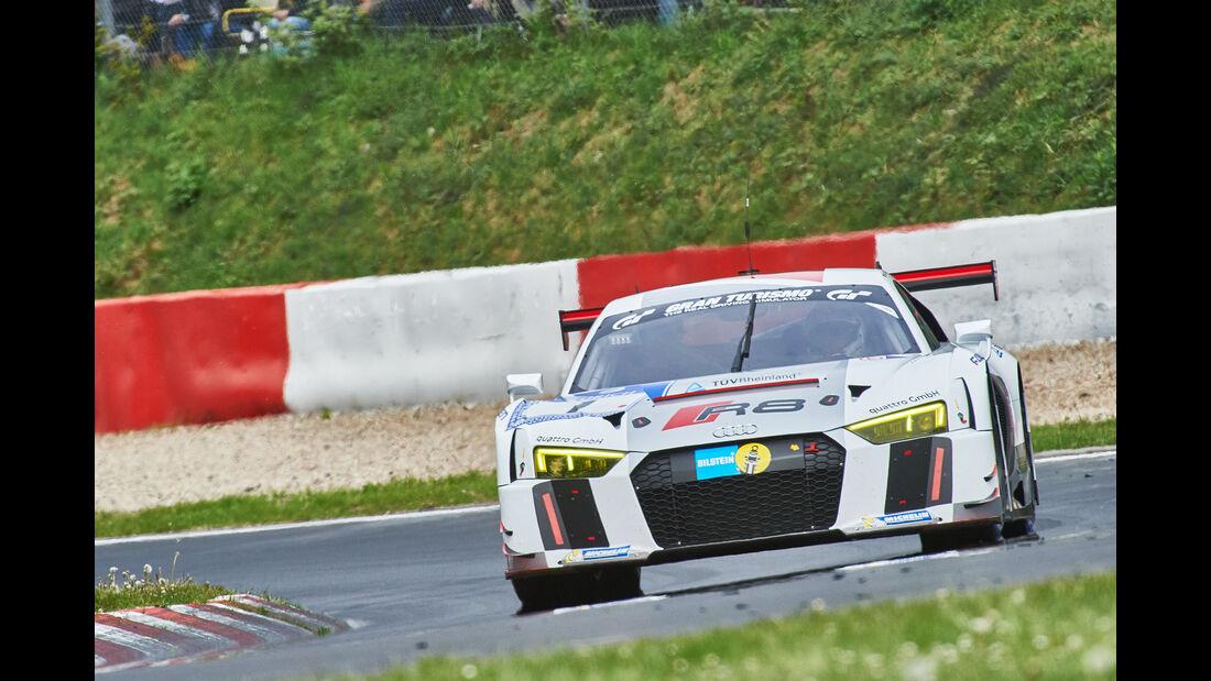 Audi R8 LMS - Startnummer: #1 - 24h-Nürburgring 2015 - Donnerstag