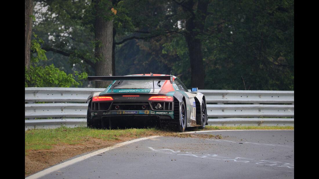 Audi R8 LMS - Startnummer #1 - 24h-Rennen Nürburgring 2018 - Nordschleife - 13.5.2018