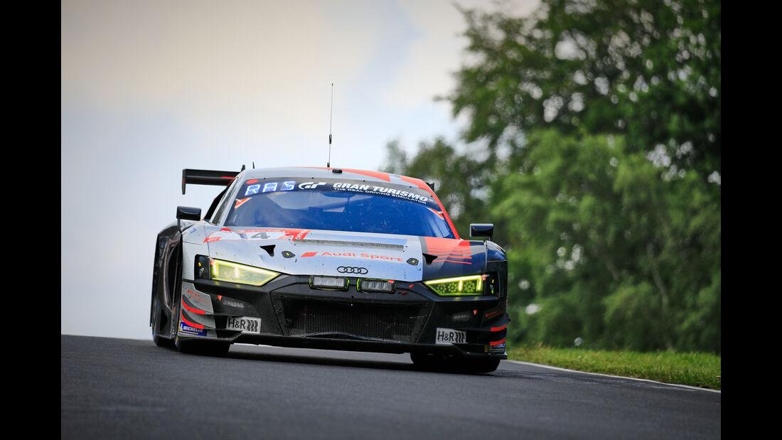 Audi R8 LMS - Startnummer #14 - 24h Rennen Nürburgring - 22. Juni 2019