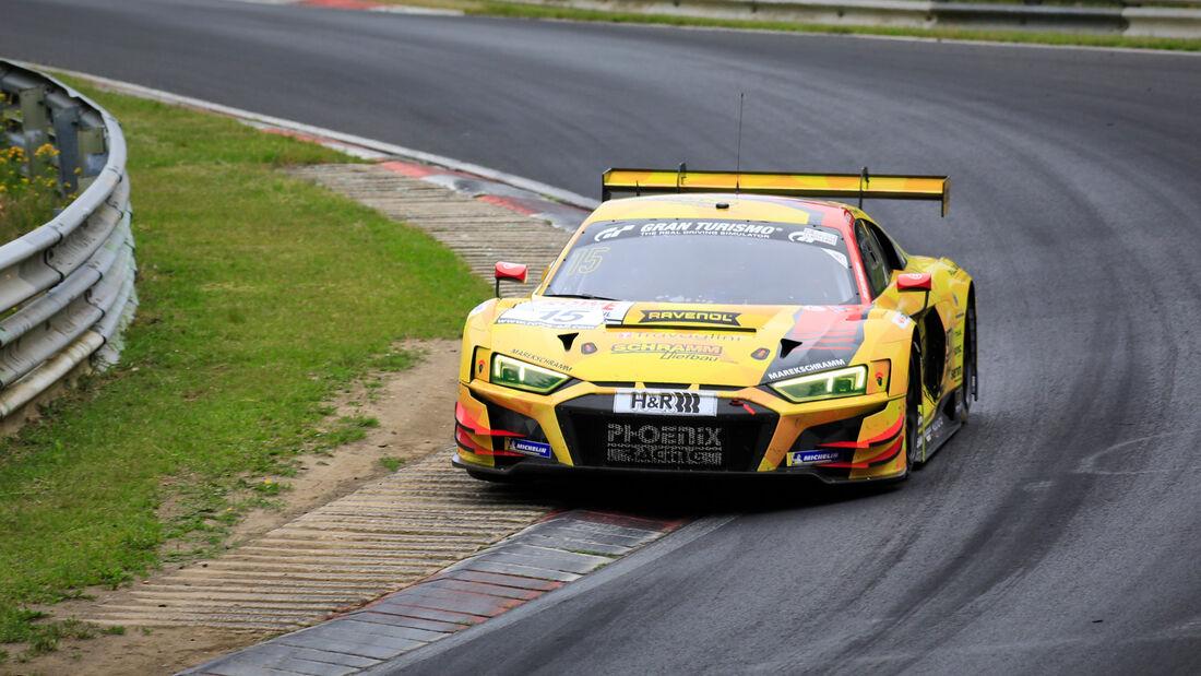 Audi R8 LMS - Startnummer #15 - Phoenix Racing - SP9 Pro - NLS 2020 - Langstreckenmeisterschaft - Nürburgring - Nordschleife