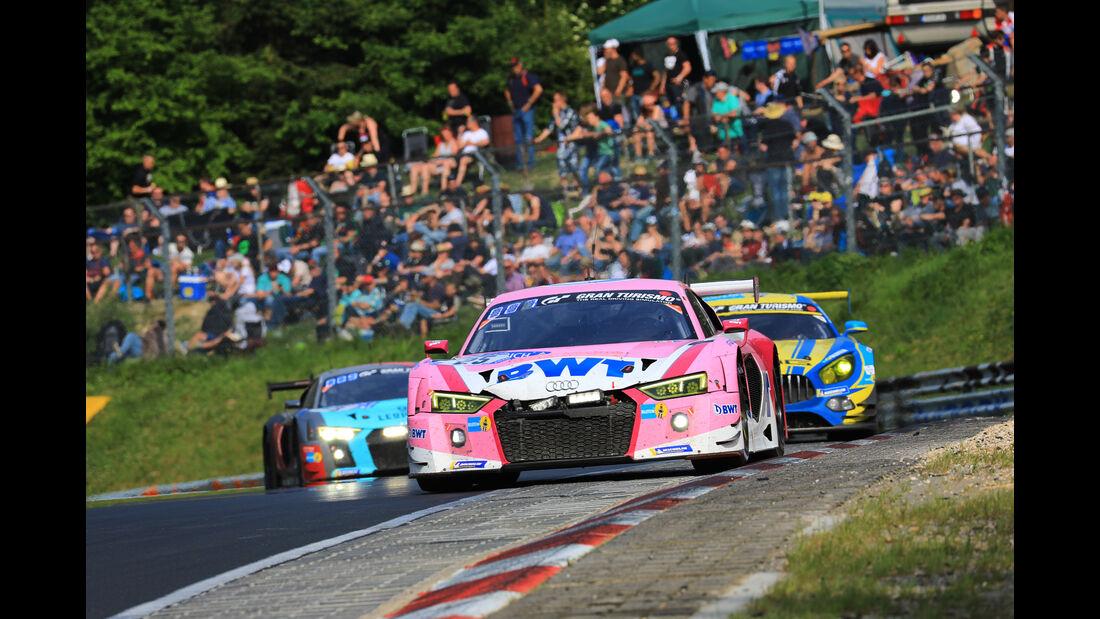 Audi R8 LMS - Startnummer #25 - 24h-Rennen Nürburgring 2018 - Nordschleife - Samstag 12.5.2018