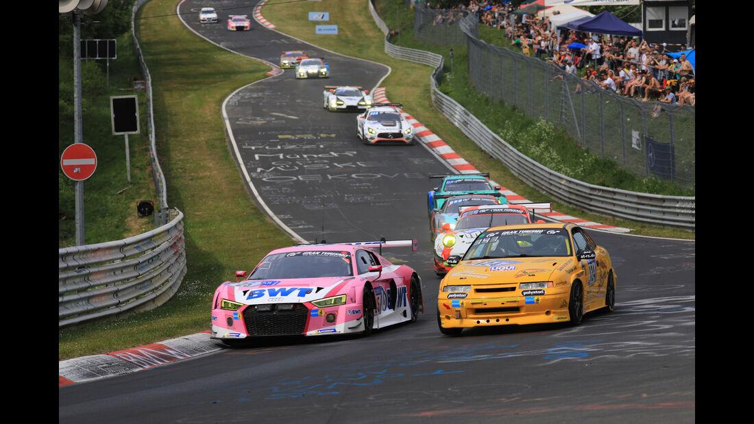 Audi R8 LMS - Startnummer #25 - 24h-Rennen Nürburgring - Nordschleife - Samstag - 12.5.2018