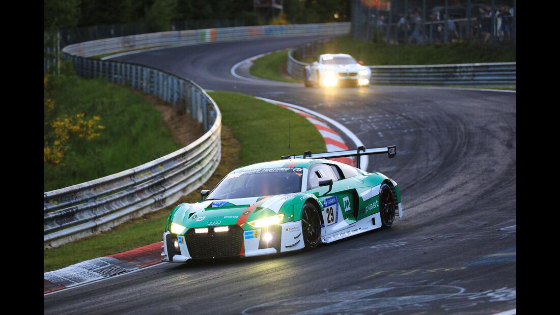 Audi R8 LMS - Startnummer #29 - 24h-Rennen Nürburgring 2017 - Nordschleife