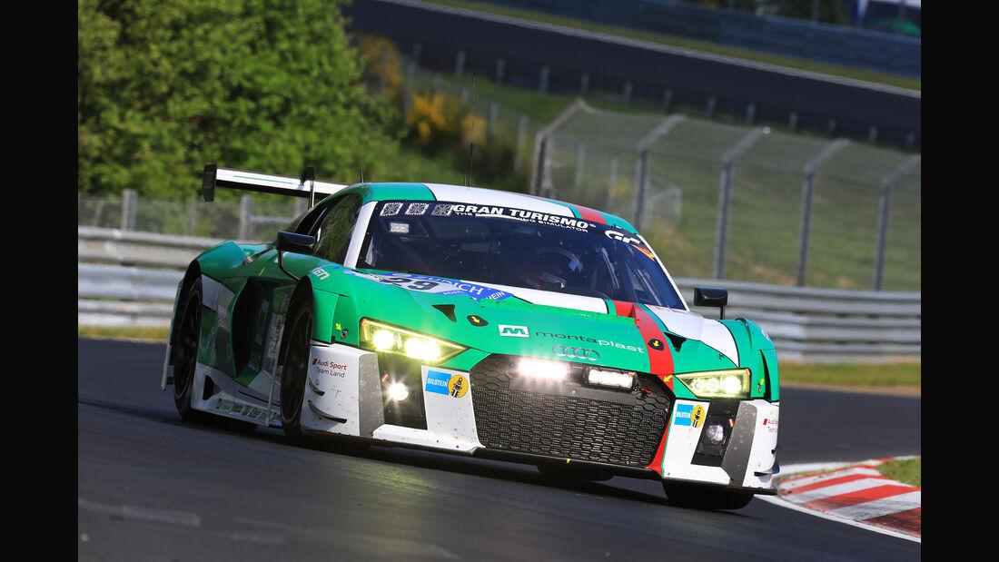Audi R8 LMS - Startnummer #29 - 24h-Rennen Nürburgring 2017