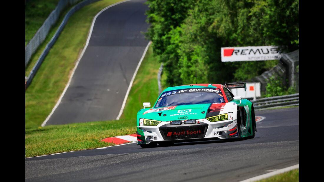 Audi R8 LMS - Startnummer #29 - 24h Rennen Nürburgring - 21. Juni 2019