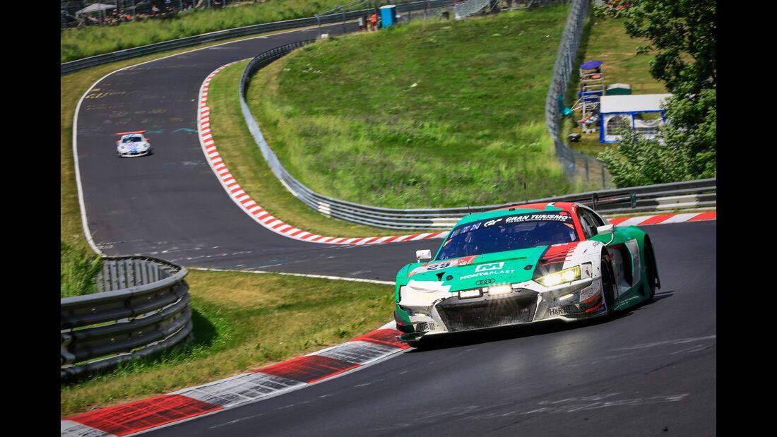Audi R8 LMS - Startnummer #29 - 24h Rennen Nürburgring - Nürburgring-Nordschleife - 23. Juni 2019