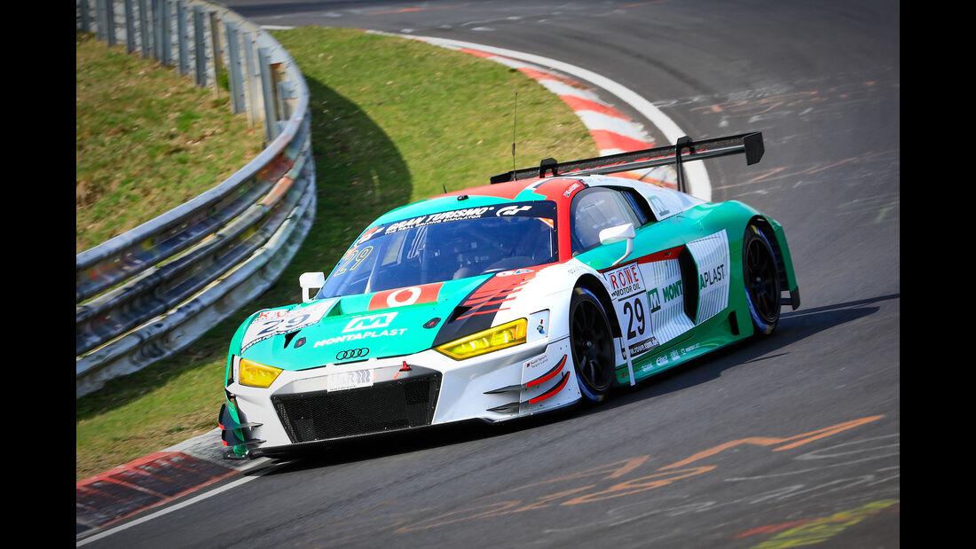 Audi R8 LMS - Startnummer #29 - Audi Sport Team Land - SP9 Pro - VLN 2019 - Langstreckenmeisterschaft - Nürburgring - Nordschleife