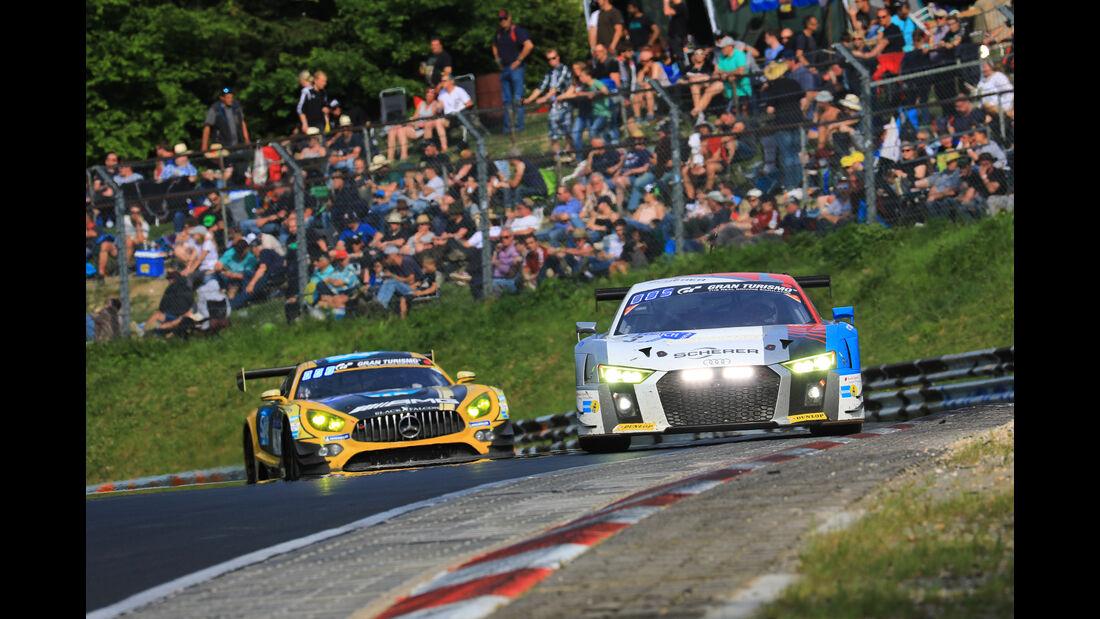 Audi R8 LMS - Startnummer #3 - 24h-Rennen Nürburgring 2018 - Nordschleife - Samstag 12.5.2018