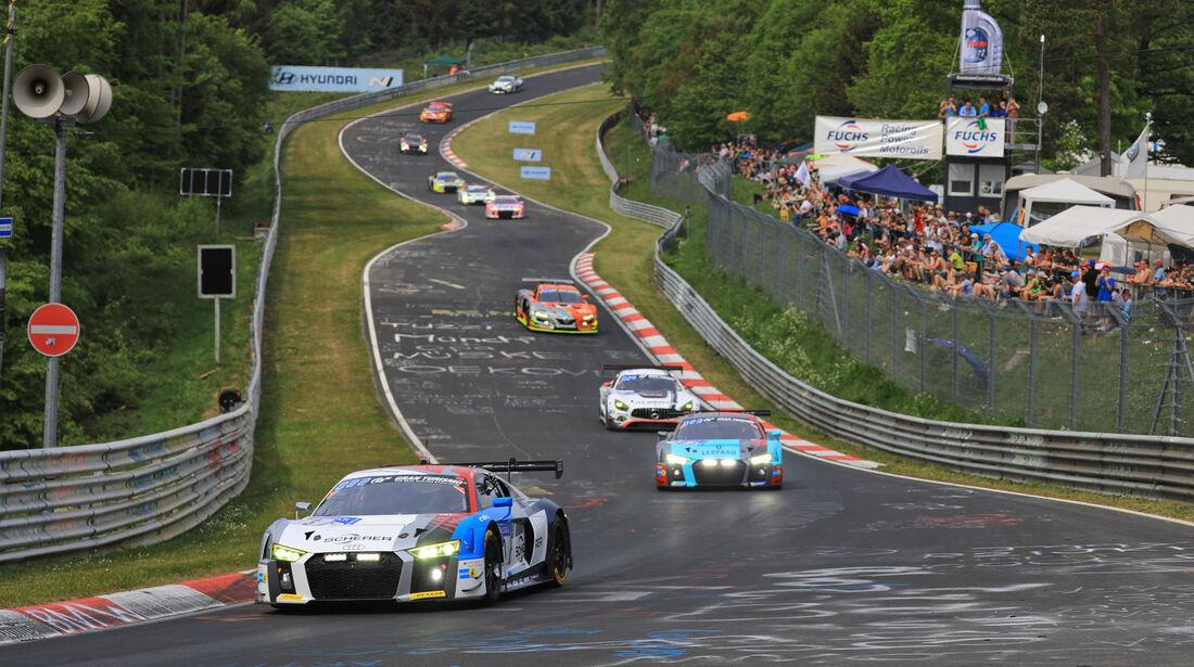 Audi R8 LMS - Startnummer #3 - 24h-Rennen Nürburgring - Nordschleife - Samstag - 12.5.2018