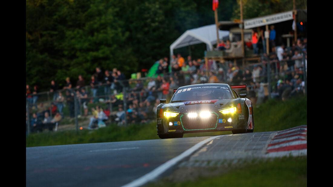 Audi R8 LMS - Startnummer #34 - 24h-Rennen Nürburgring 2017 - Nordschleife