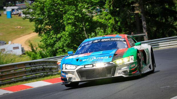 Audi R8 LMS - Startnummer #4 - 24h Rennen Nürburgring - Nürburgring-Nordschleife - 23. Juni 2019