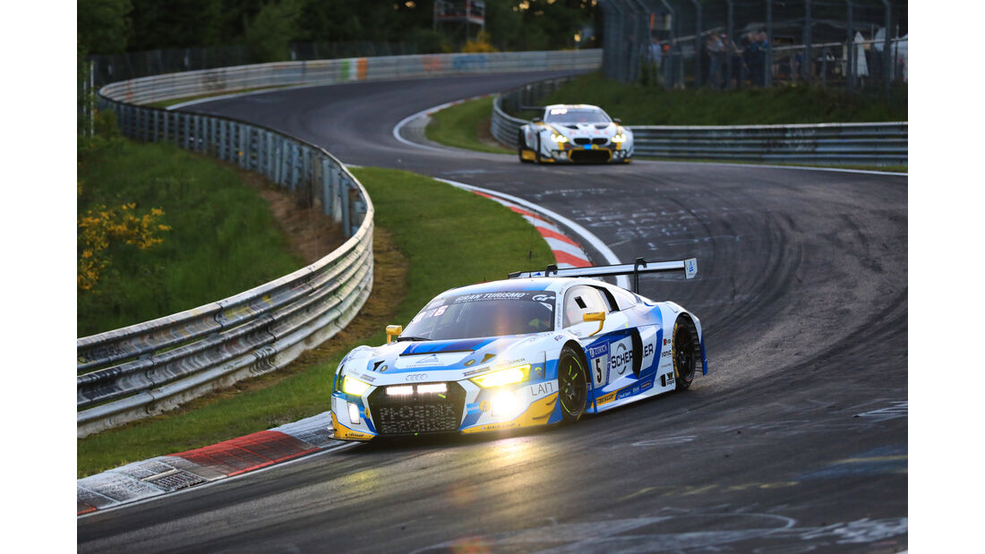 Audi R8 LMS - Startnummer #5 - 24h-Rennen Nürburgring 2017 - Nordschleife