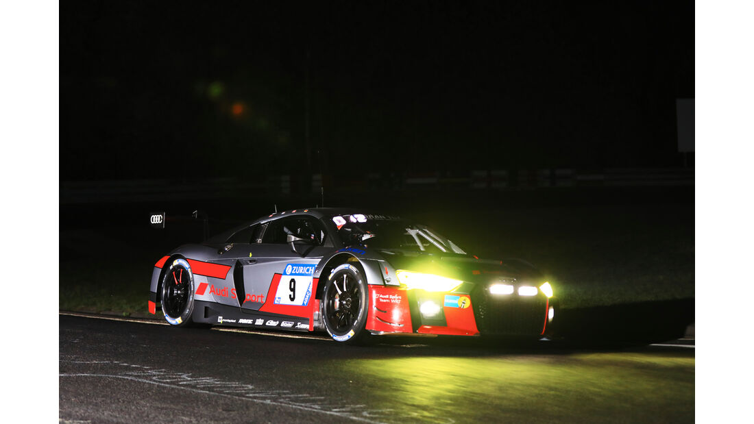 Audi R8 LMS - Startnummer #9 - 24h-Rennen Nürburgring 2017 - Nordschleife