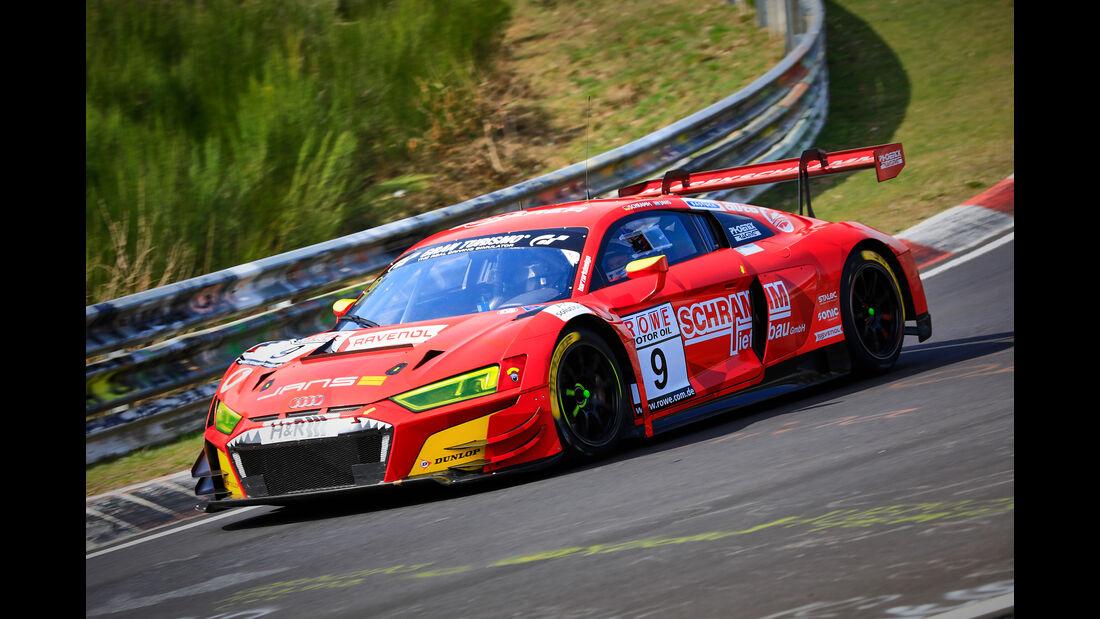 Audi R8 LMS - Startnummer #9 - Phoenix Racing - SP9 Pro - VLN 2019 - Langstreckenmeisterschaft - Nürburgring - Nordschleife